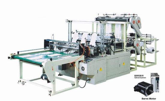 six lines plastic bag machine